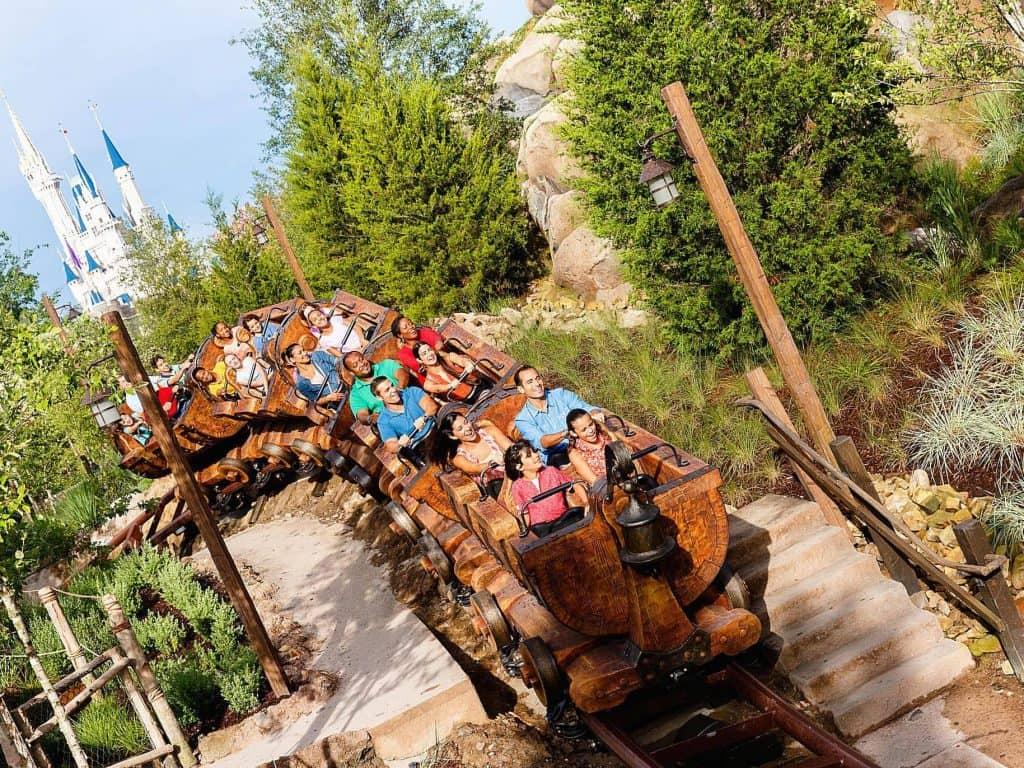Magic Kingdom Roller Coster