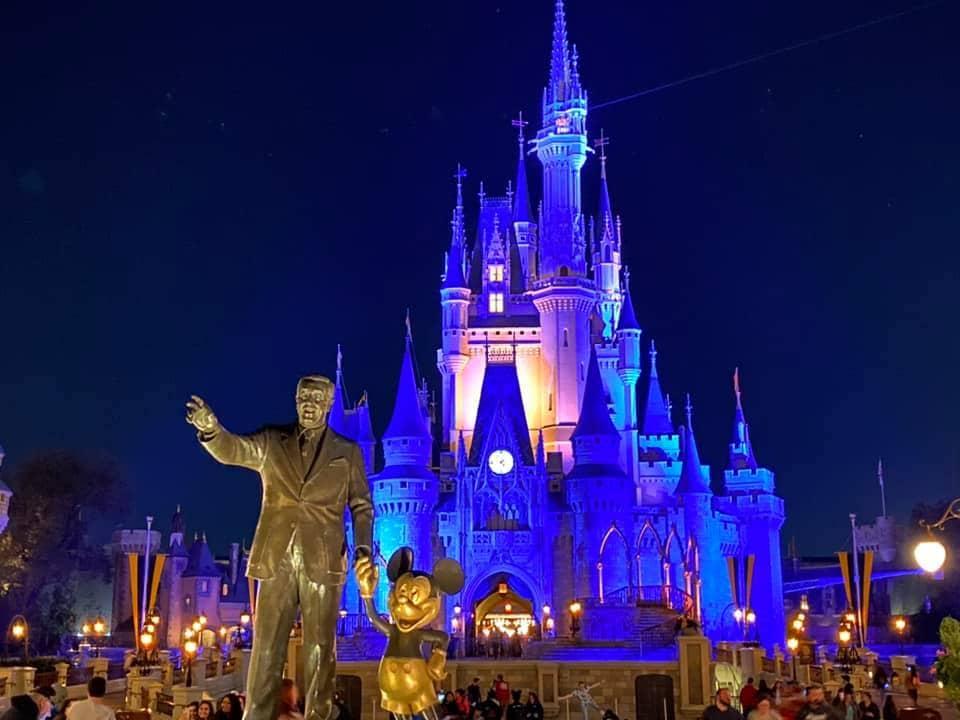 Walt Disney World Castle at Night